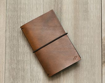 Leather Notebook, Journal Field Notebook, Field Journal