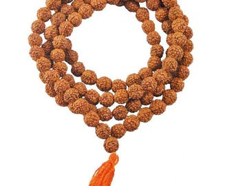 Original  rudraksha mala 6mm, 109 beads