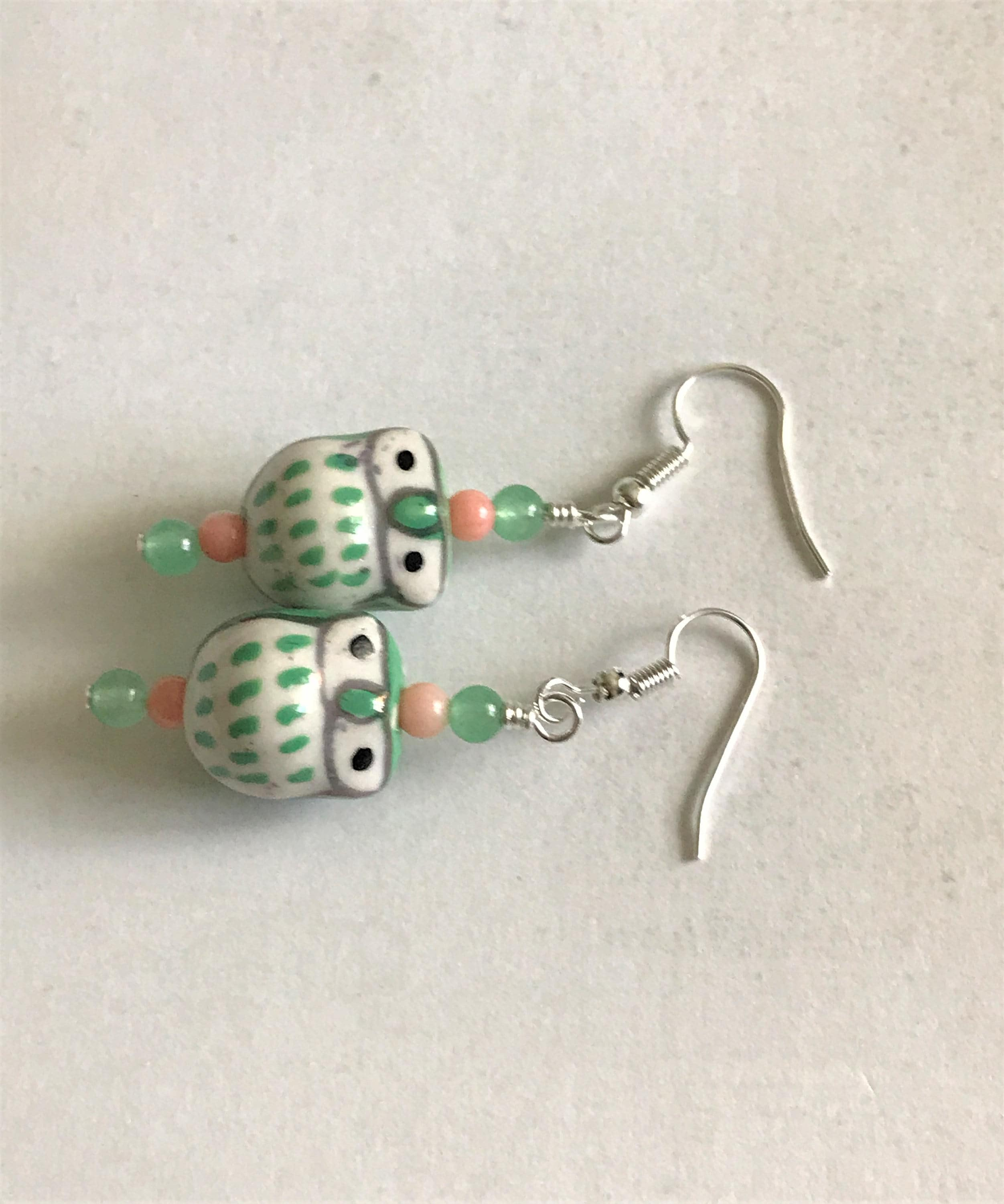 set game on and man stud character ghost pac original luulla vintage of product earrings