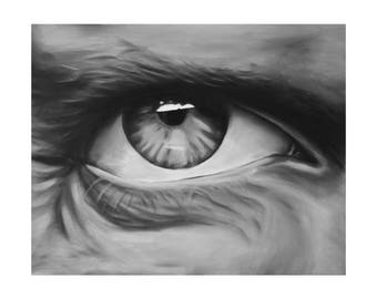Dr house eye
