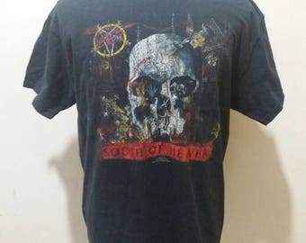 Vintage slayer world sacrifice 1989 tour concert shirt