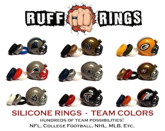 Nfl Silicone Wedding Rings