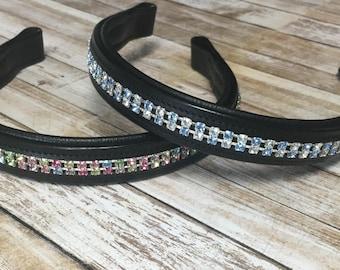 Customized Swarovski Austrian Crystal Browband