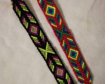 Braided bracelet, Handwoven bracelet, Friendship bracelet, Wrist band, Knotted bracelet, Bracelet bresilien,String bracelet, Boho