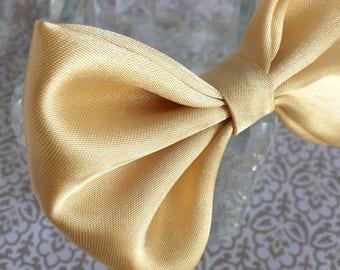 Formal Dog bow gold