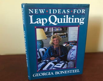 New Ideas For Lap Quilting Book