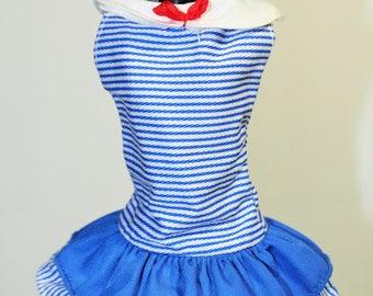 Yacht Club Barbie Doll Fashions Sailor Blue Dress & Hat