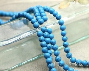 Magnesite/turquoise - gemstones, blue - gemstones