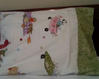 Childrens Pillowcase Fun Figures Birthday Gift Home Decor For him or her
