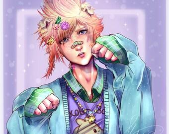 Fairy Kei! Prompto [Print]
