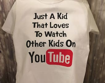 Youtube Youth T-Shirt