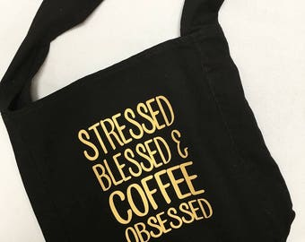 Stressed and Blessed~Giff Idea~Canvas Bag