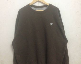 Vintage 90's Champion Eco Sweatshirts Size XL