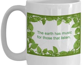 15 oz Mussical earth mug