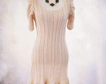 BEAUTIFUL CREAM KNIT Dress