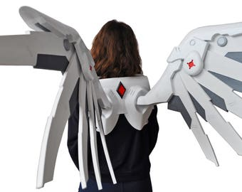 Mercy Wings from Overwatch cosplay