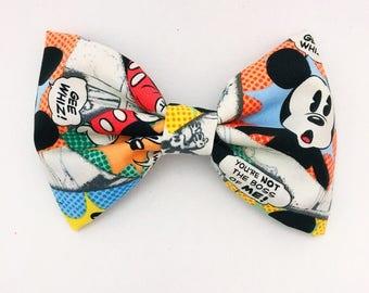 Mickey Comic Bow Clip