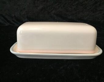Pfaltzgraff Aura Covered Butter Dish