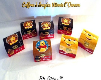 "Box dragees ""Winnie the Pooh"""