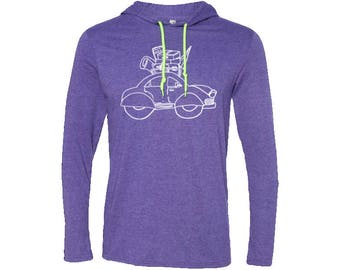 Roadtripper Road Trip Travel T-Shirt Hoodie| Hiking Hoodie | Adventure Hoodie | Gift for men | Vintage | Valentines day gift | Wanderlust