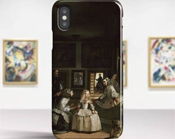 "Diego Velázquez, ""Las Meninas"". iPhone X Case Art iPhone 8 Case iPhone 7 Plus Case and more. iPhone X TOUGH cases. Art iphone cases."