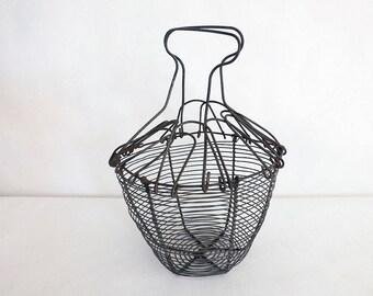 Salad Bowl - salad spinner 1950 metal Basket