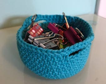 Small yarn basket
