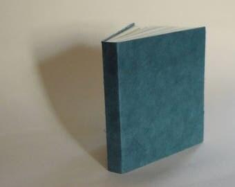 Soft Blue Square Book