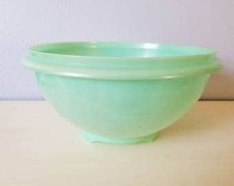 Vintage Tupperware green strainer