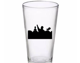 Mystery Science Theatre 3000 Drinking Horror Pint Wine Glass Tumbler Alcohol Drink Cup Barware Halloween Scary Merch Massacre