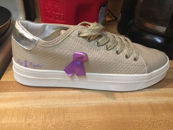2018 Pancreatic Cancer Awareness Sneakers - Preview - Not For Sale YET!