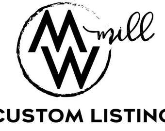 Custom Listing for Joelle Prescott