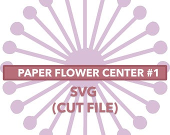 Flower Center #1 SVG File
