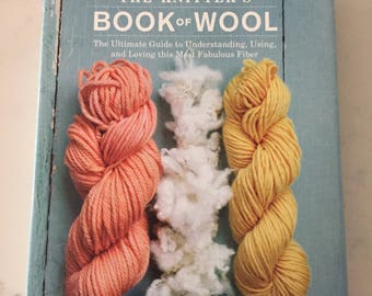 The Knitters book of wool/Hard Cover/Knitting Patterns/Wool