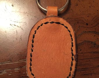 Baseball Glove Leather Keychain - Free Shipping