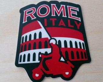 Rome Italy Travel Sticker