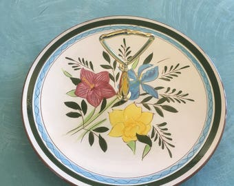 Stangl pottery display dish