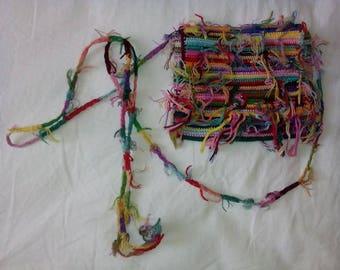 Free shipping, Crochet purse, handmade + a surprise gift