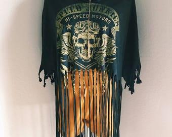 Distressed Skull T-Shirt
