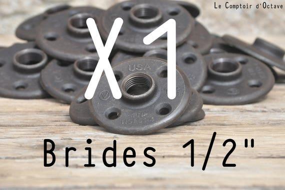 Bride de plancher 1 2 15 21mm fonte fixation - Bride de plancher ...