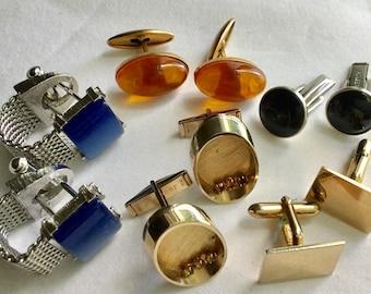 Vtg cufflink collection