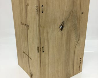 Branded Wooden Menu Covers for ANY Occasion. British Oak, Hand Finished and Simply Beautiful.