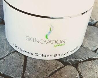 Gorgeous golden body cream