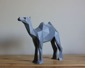 Low-Poly Camel