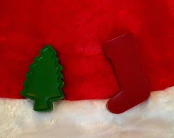 Christmas Fun Shapes Crayons!