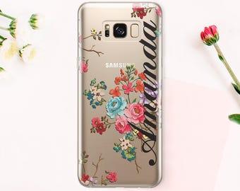 Samsung Galaxy S7 Edge case Samsung Galaxy S7 case Samsung Galaxy S8 case Samsung Galaxy S8 Plus case Phone case Note 7 Case Clear CA_024