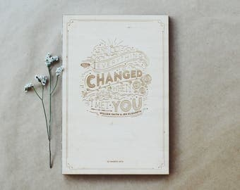 Personalised Photo Album – you've changed me