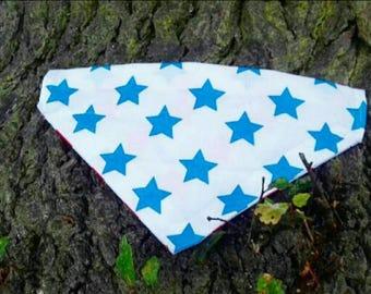 Light blue stars Bandana