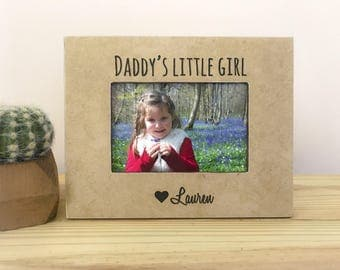 Father's Day Gift Picture Frame, Gift from Daughter, Personalized Gift for Dad, Dad GIFT, Father's Day frame from Daughter