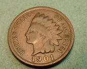1901 Indian Head Very Good <> #IH5
